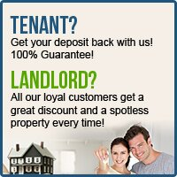 End of tenancy in London - Great discount and spotless property